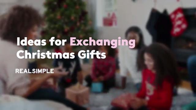Ideas for Exchanging Christmas Gifts