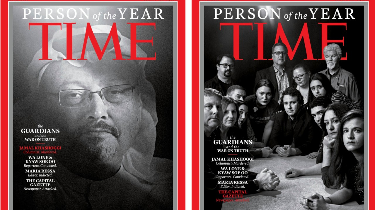 National News - Time's 2018 Person of the Year Are The Guardians and the War on Truth