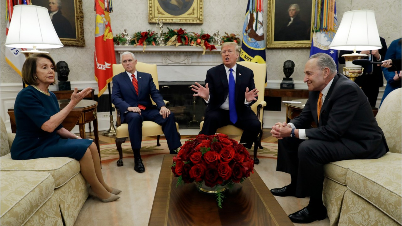 National News - President Trump Threatens Government Shut Down Over Wall Funding