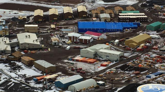 None - Two Technicians Die At U.S. Research Station In Antarctica