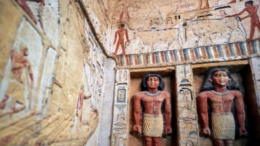 None - Egypt Announces Discovery Of 4,400 Year Old Tomb