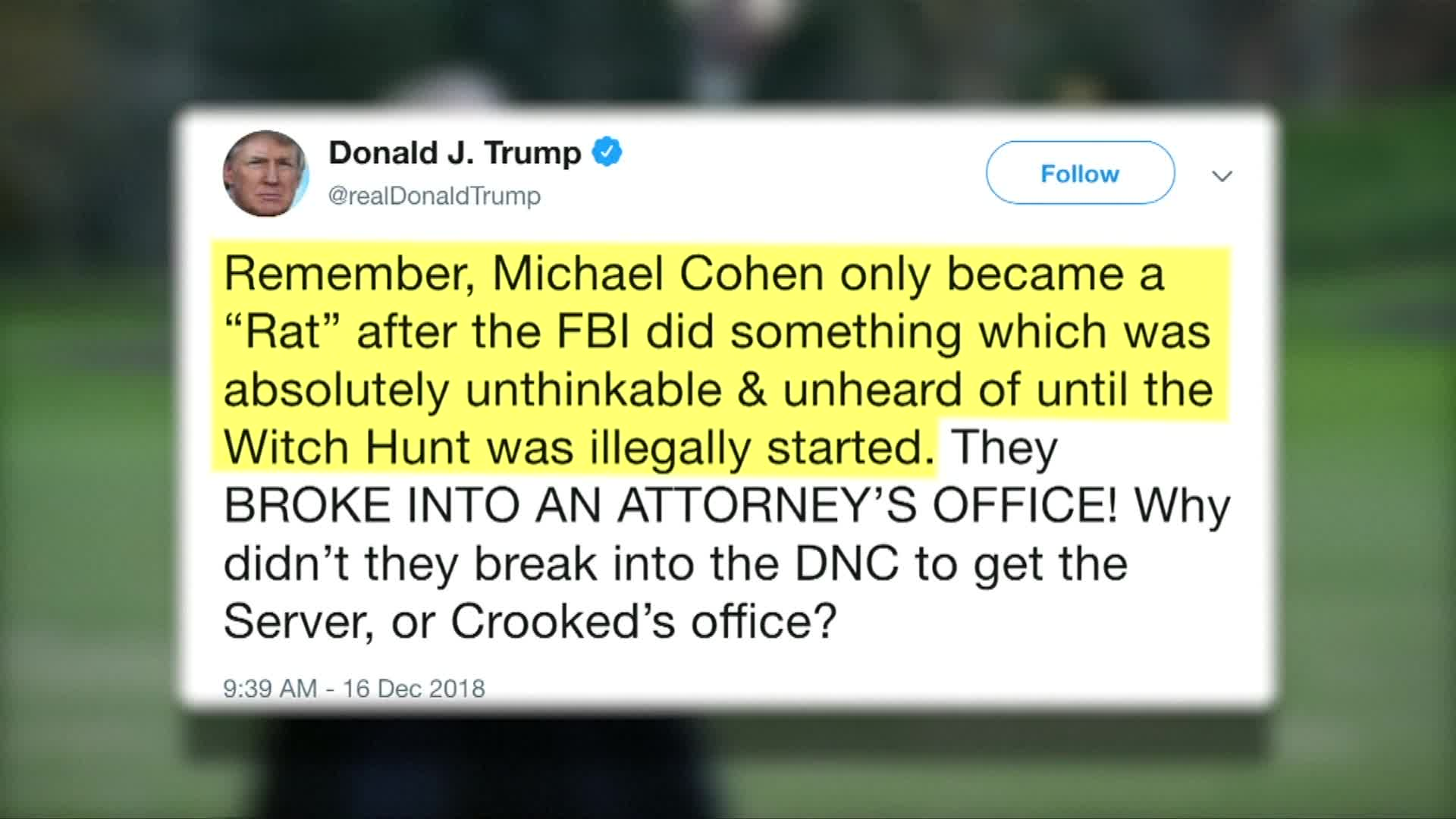 Fox News Analyst Hits Trump's Latest Tweet With A Blistering Fact-Check