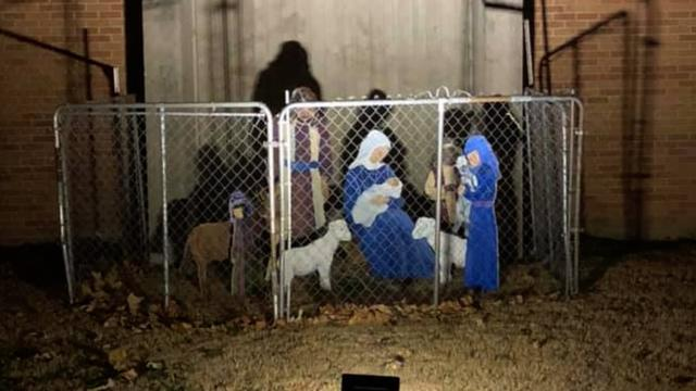 """384a4b88f67e Some critics on Twitter protested that Jesus was not a refugee after the  representative-elect wished a merry Christmas to """"refugee babies in  mangers."""""""