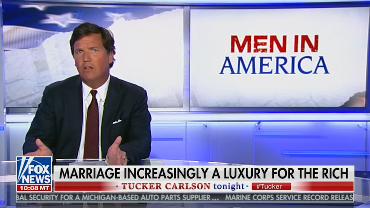 Tucker Carlson: I'd Never Let My Daughter Date A Feminist Man