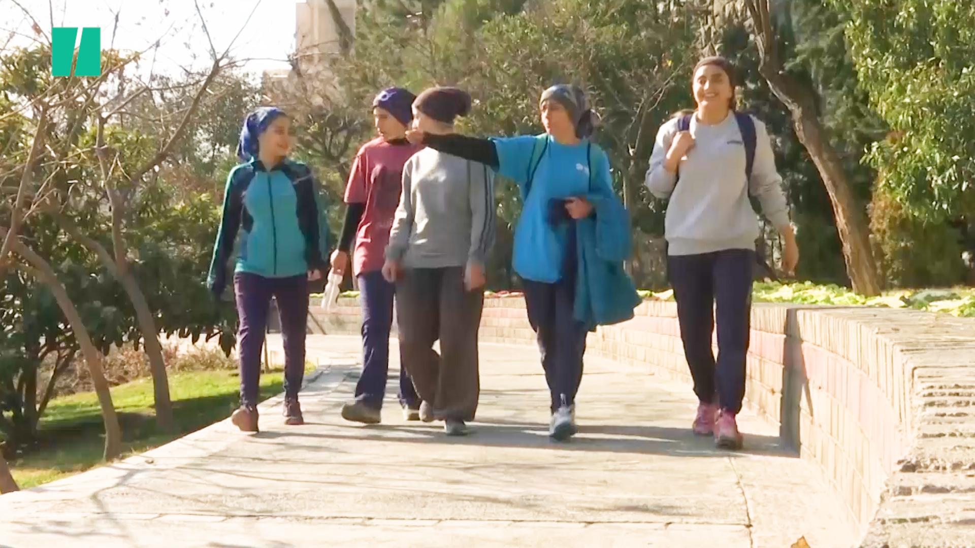 Meet The Iranian Women Finding Strength In Parkour   HuffPost UK