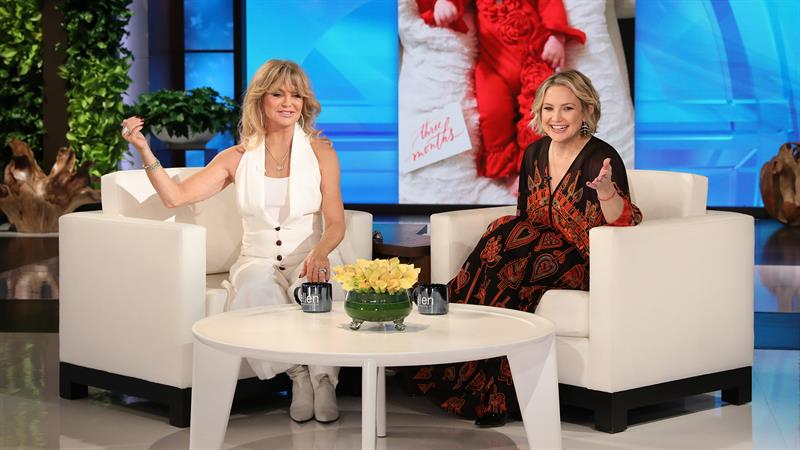 Goldie Hawn Was Warned She'd 'Fall In' When Kate Hudson Was Giving Birth