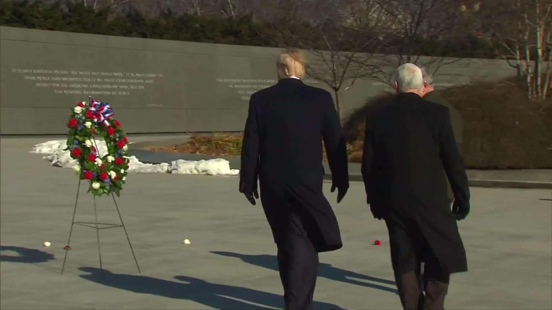 None - President Trump, Vice President Pence Remember Dr. Martin Luther King, Jr.