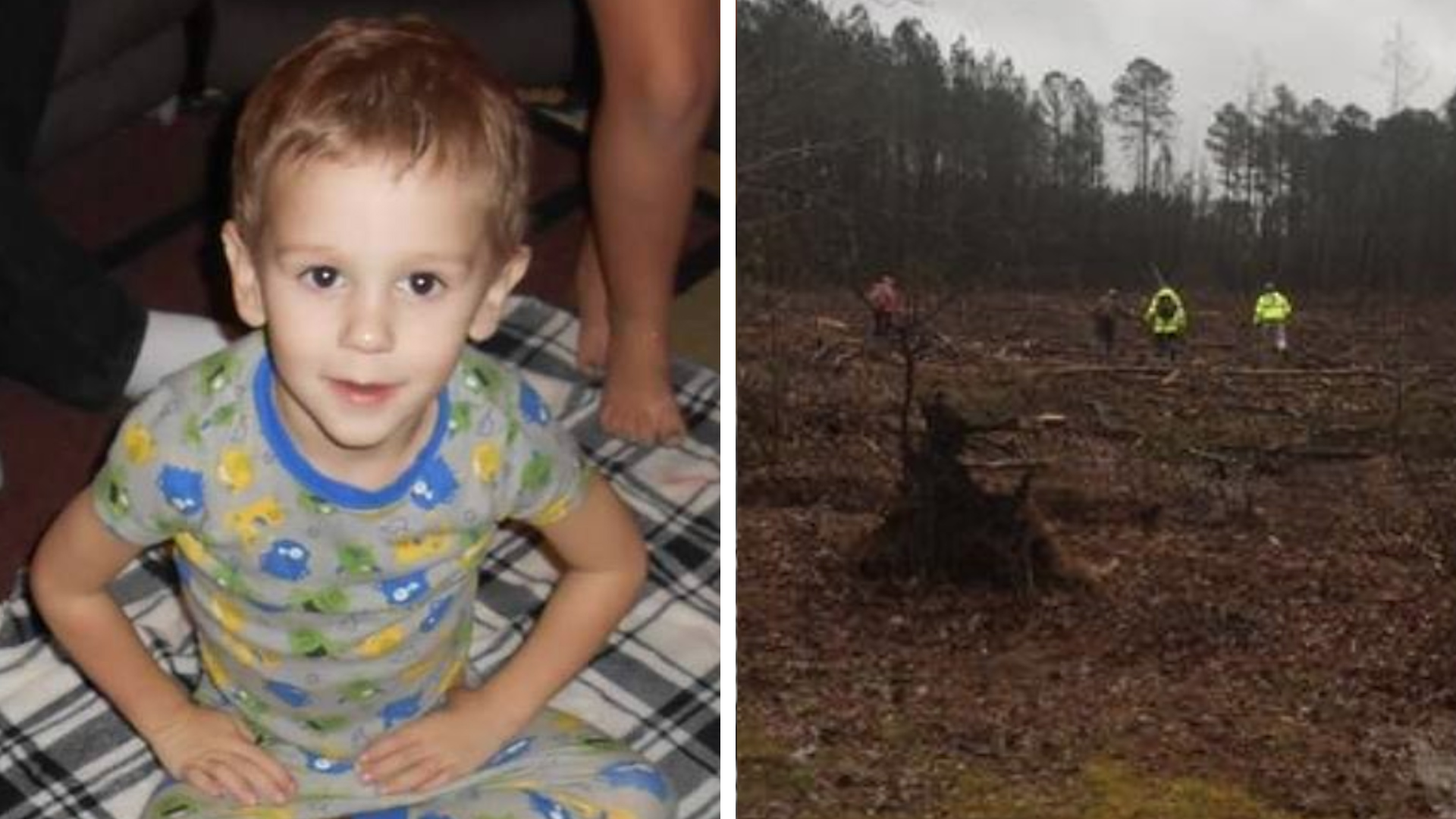 None - 3-Year-Old Found Alive After Going Missing Says He 'Hung Out With a Bear'