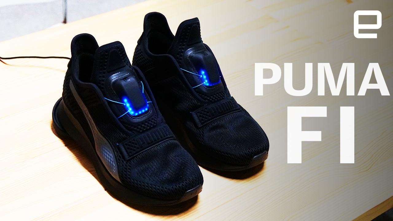 c23f574e7ce8 Puma wants to let you try its new Fi self-lacing shoes
