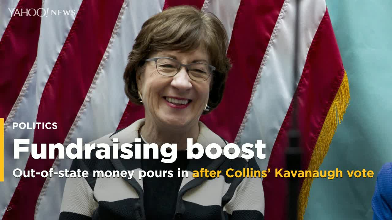 Susan Collins Wanted To Limit Out-Of-State Donations. Now Her Campaign Is Banking On Them.