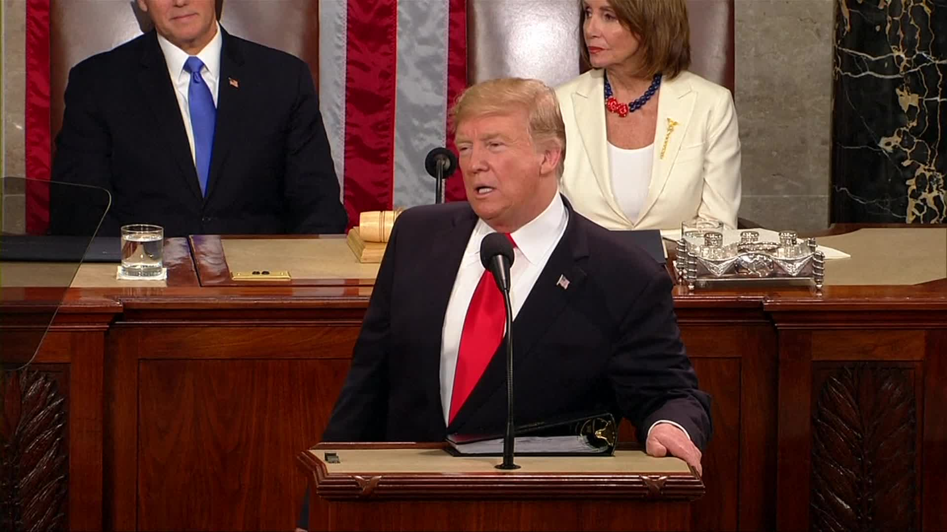 President Trump: Time To Put Aside Ridiculous Partisan Investigations