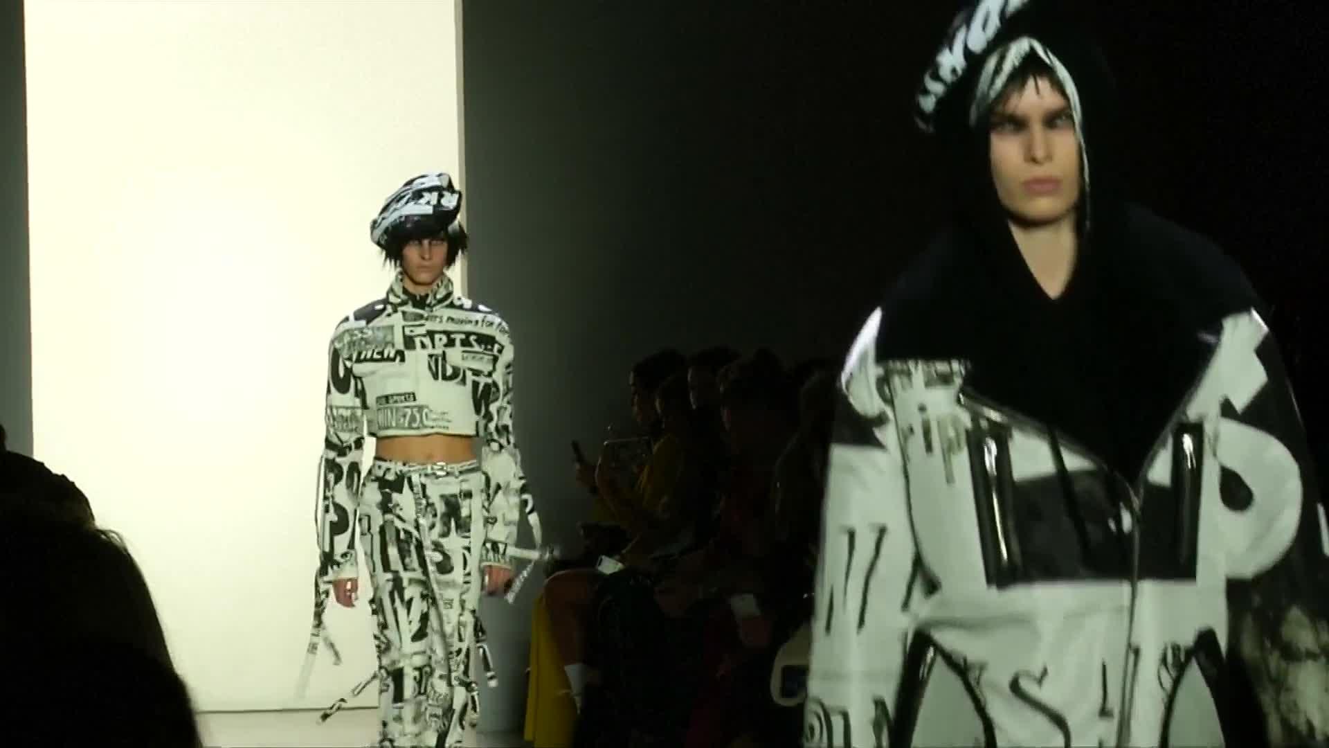 NYFW: Jeremy Scott takes street style grunge to a whole new level