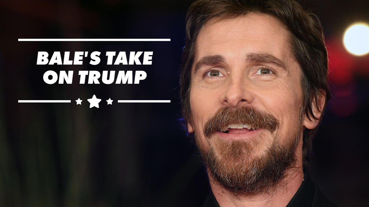 Christian Bale Names The 1 Book Actors Should Read Before Playing Donald Trump