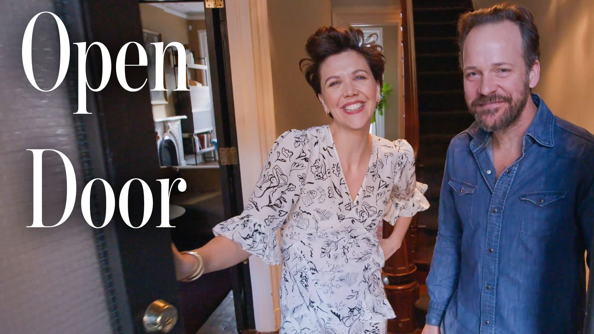 Maggie Gyllenhaal almost missed her own Architectural Digest house tour because of her Tesla (Exclusive)