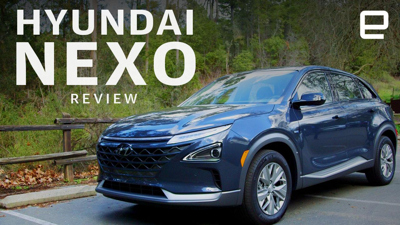 Hyundai's Nexo makes a case for fuel-cell SUVs