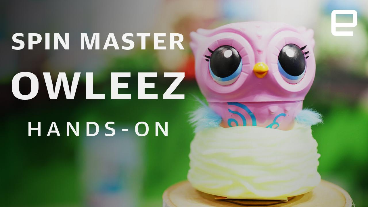 Owleez is the mutant offspring of a cuddly pet and a helicopter