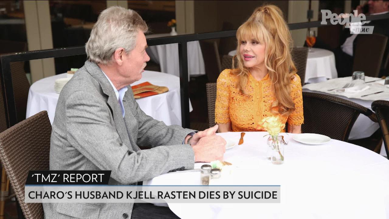Charo breaks silence on husband's suicide at 79: 'There are no words'