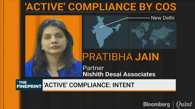 'Active' Compliance By Companies: Challenges
