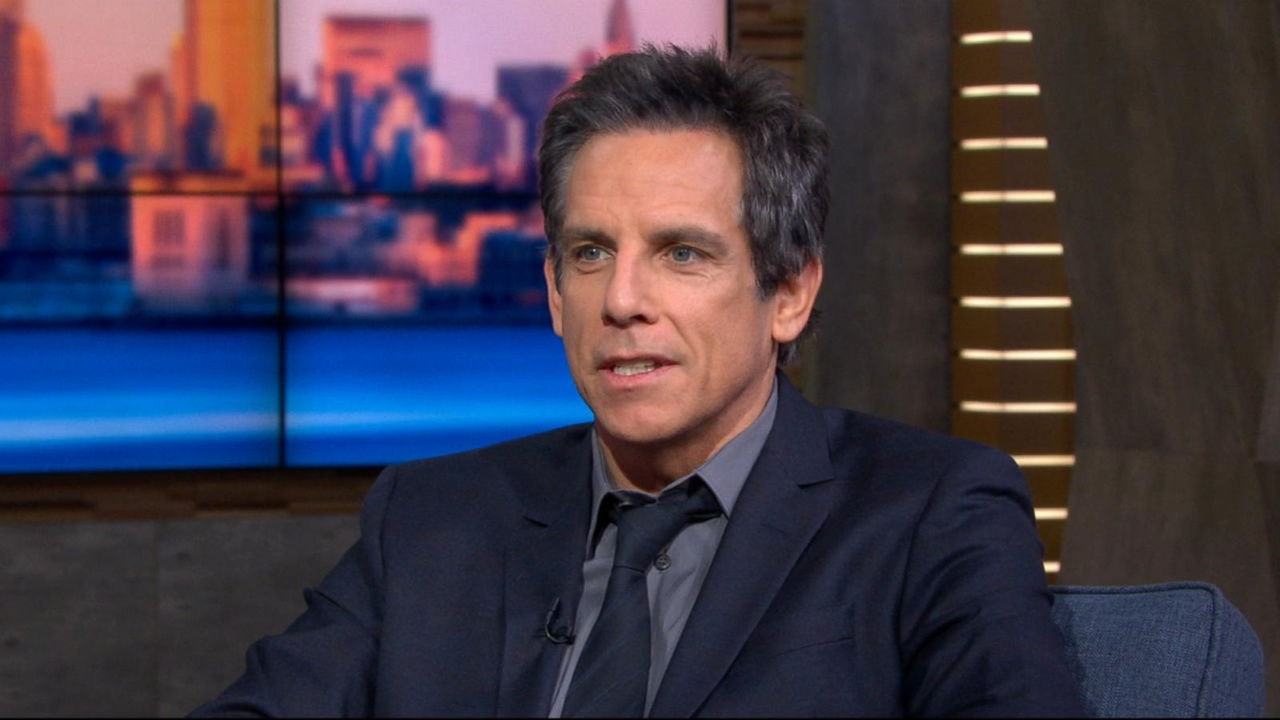 Ben Stiller jokes daughter Ella has a football scholarship for Yale