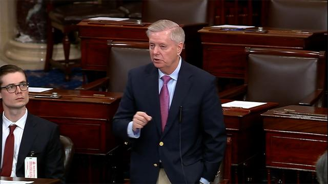 Politics - Senator Lindsey Graham Moves to Block House Mueller Resolution
