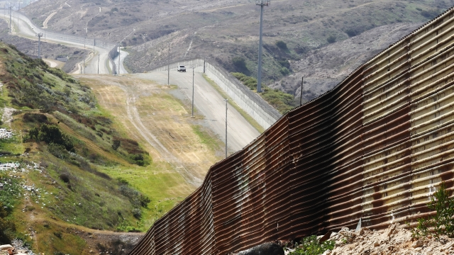 Politics - Pentagon Sends Congress List Of Projects That Could Be Cut For Border Wall