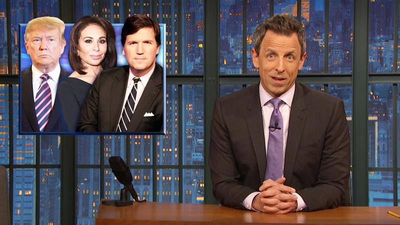 Seth Meyers' Racism Warning To Fox News' Jeanine Pirro Is Loud And Clear