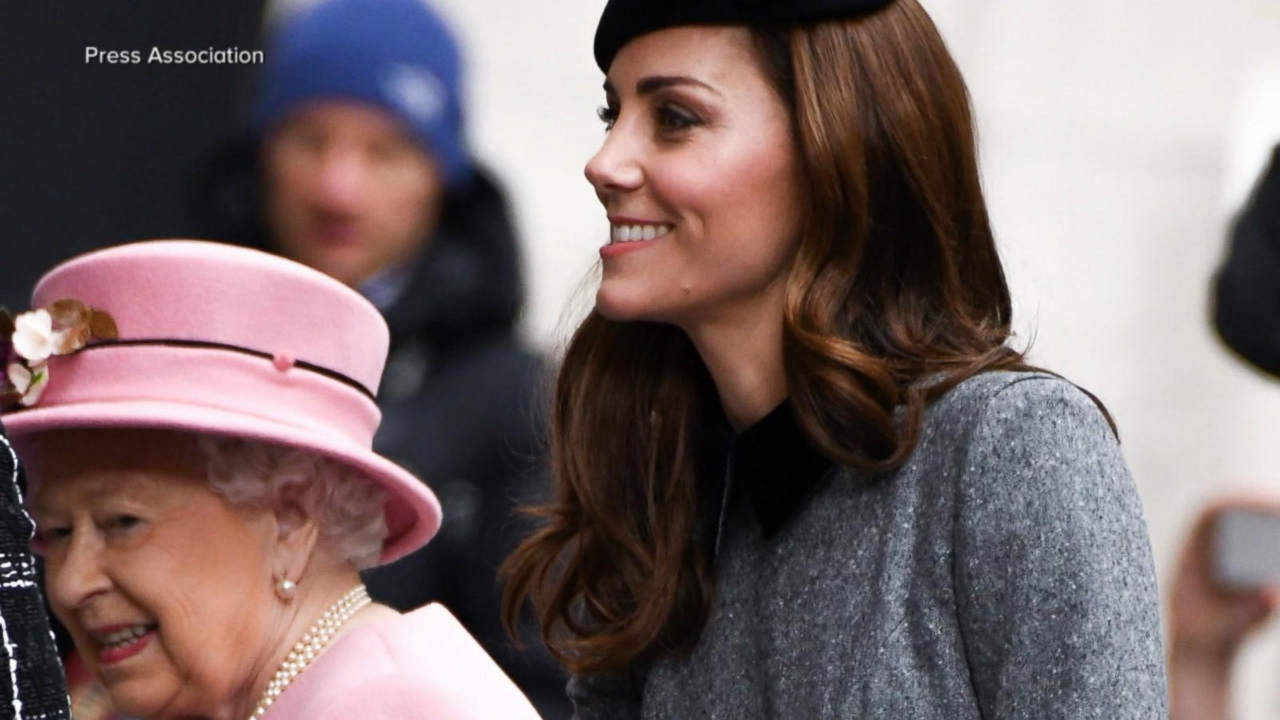 Kate Middleton makes first solo outing with Queen Elizabeth -- eight months after Meghan Markle!