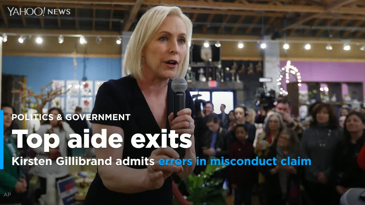 Gillibrand Now Admits 'Post-Investigation' Errors In Sexual Misconduct Claim