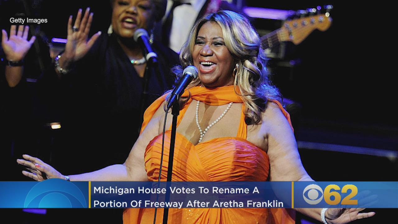 Aretha Franklin gets respect from Michigan lawmakers