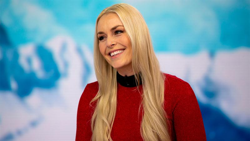 Lindsey Vonn debuts as the first ever ambassador for Dwayne 'The Rock' Johnson's 'Bend Boundaries' Project Rock Collection