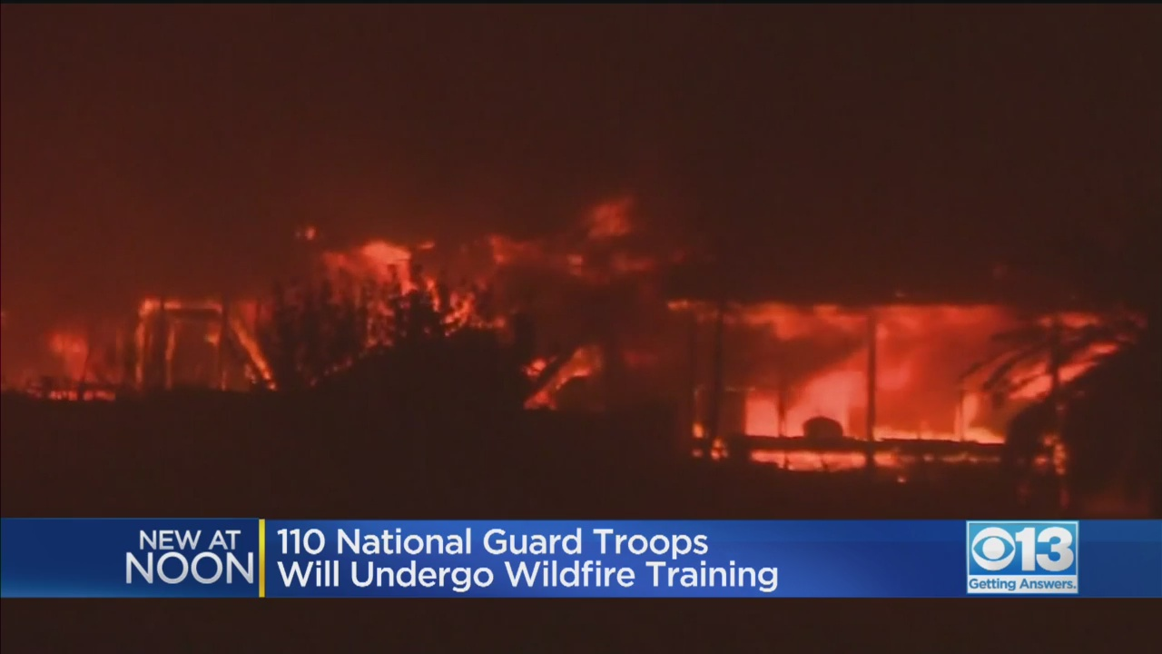 California Pulling National Guard From Trump's Border Mission To Tackle Wildfire Risks