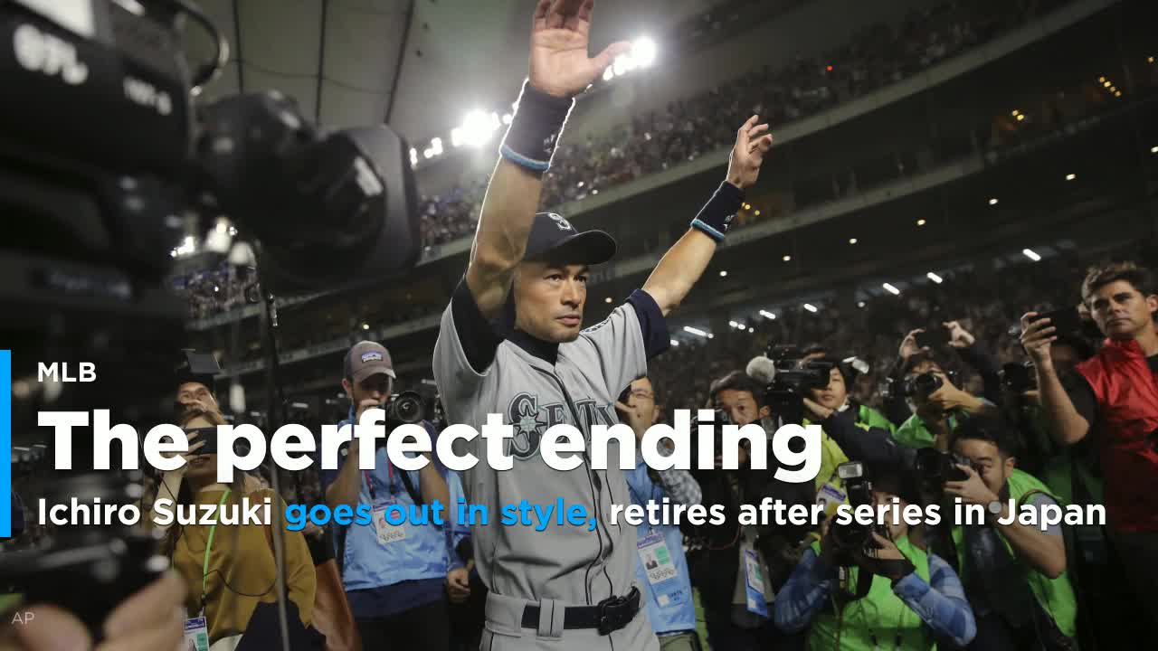Mariners Icon Ichiro Suzuki Announces Retirement In Japan