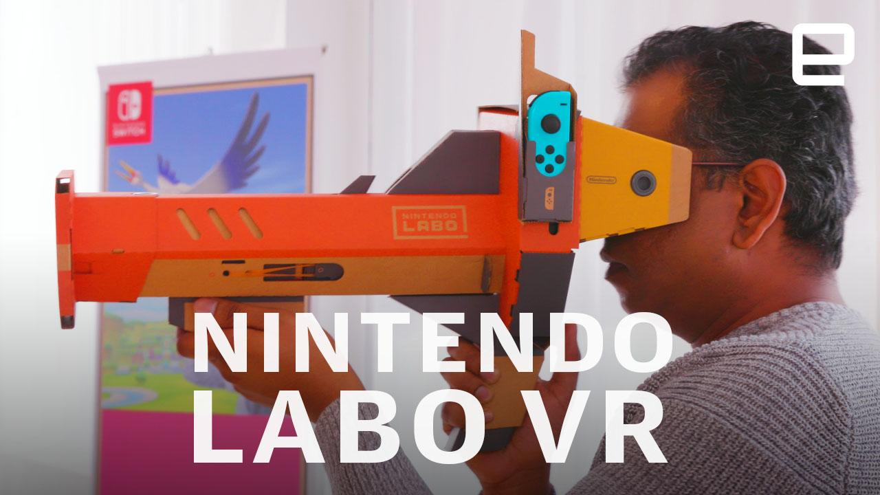 Nintendo's Labo turns the Switch into a perfect VR gateway