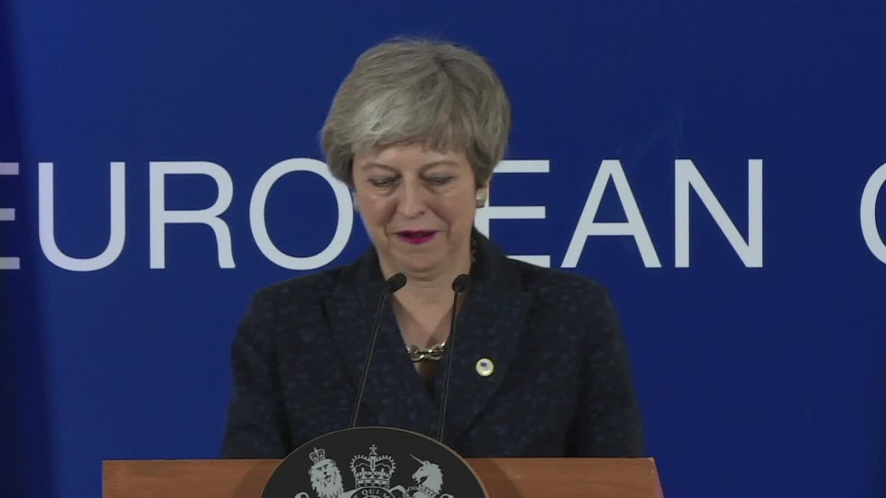 EU Leaders Agree To Delay Brexit Until May 22