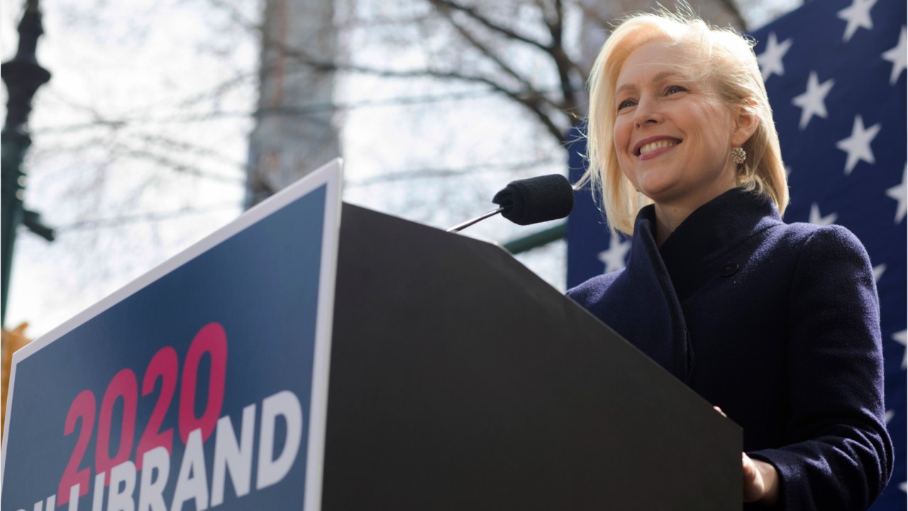National News -  New York Senator Kirsten Kicks Off 2020 Presidential Campaign