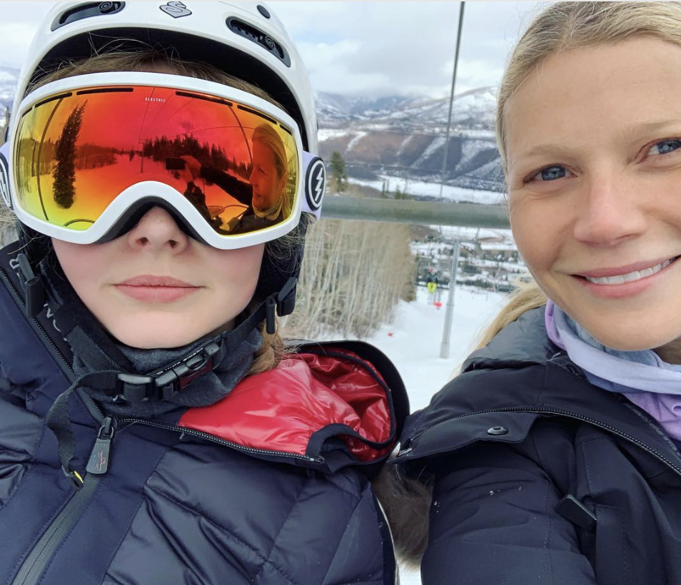 Gwyneth Paltrow Gets Called Out By Daughter Apple For Nonconsensual Selfie