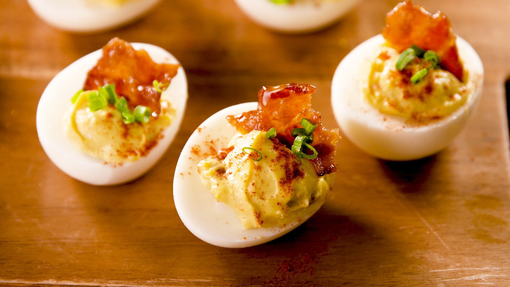 This Devilled Egg With Maple Bacon Recipe Is All You Need This Summer