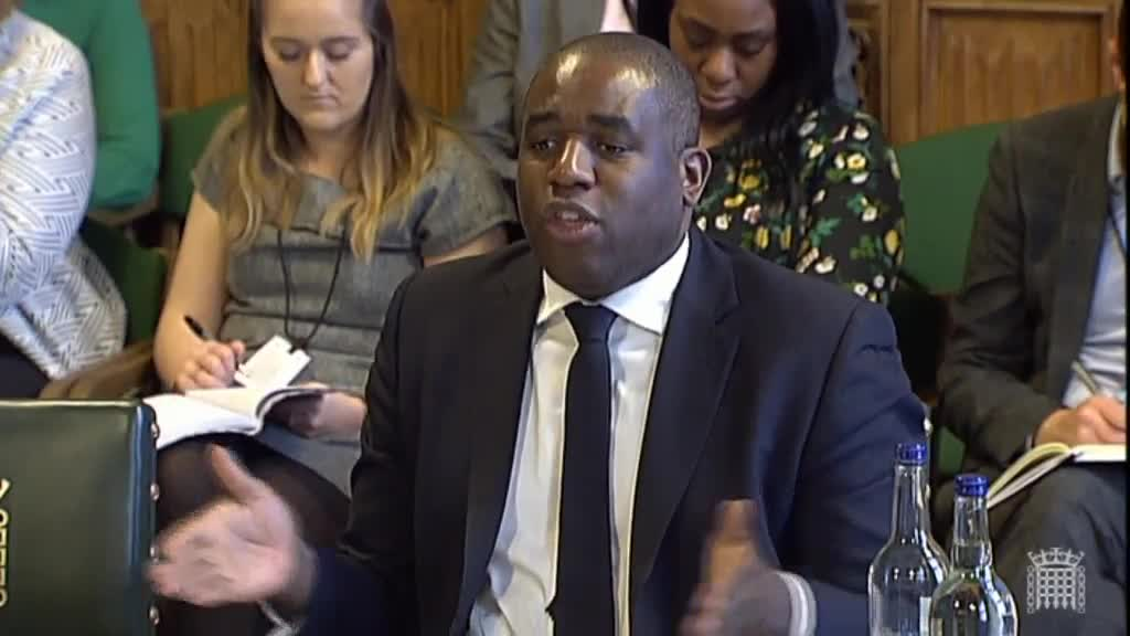 Most Women In Prison Are 'There Because Of A Man', Says David Lammy