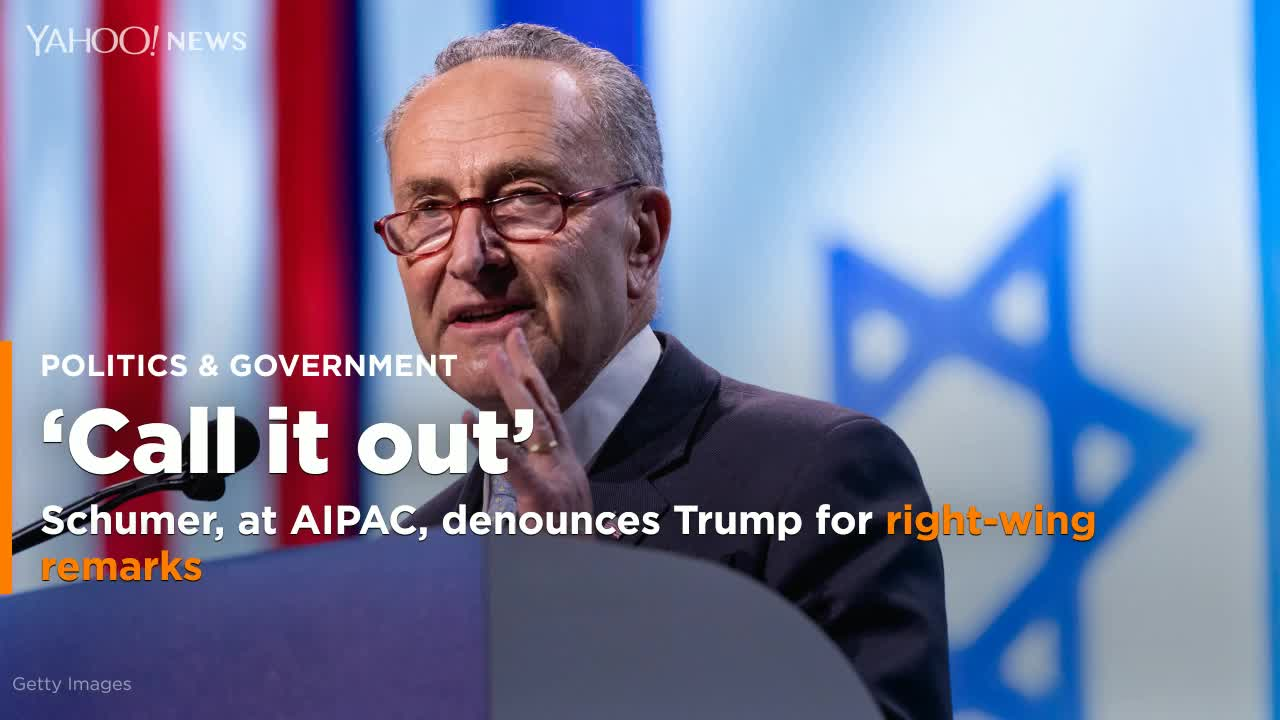 Schumer Compares Ilhan Omar To Trump As Top Democrats Echo GOP's Criticism At AIPAC