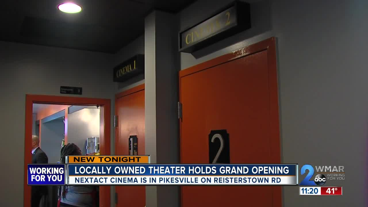 Maryland's Only Black-Owned Movie Theater Is Drawing Crowds From Across The Country