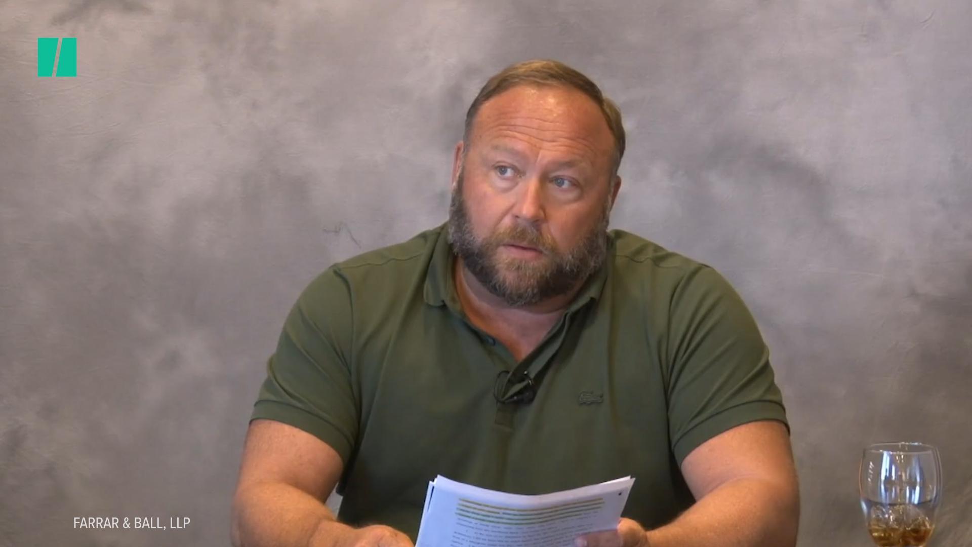 Alex Jones Can't Stop Losing Court Battles Against Sandy Hook Parents