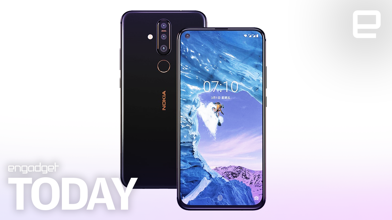 Nokia's X71 phone has a hole-punch display and a 48