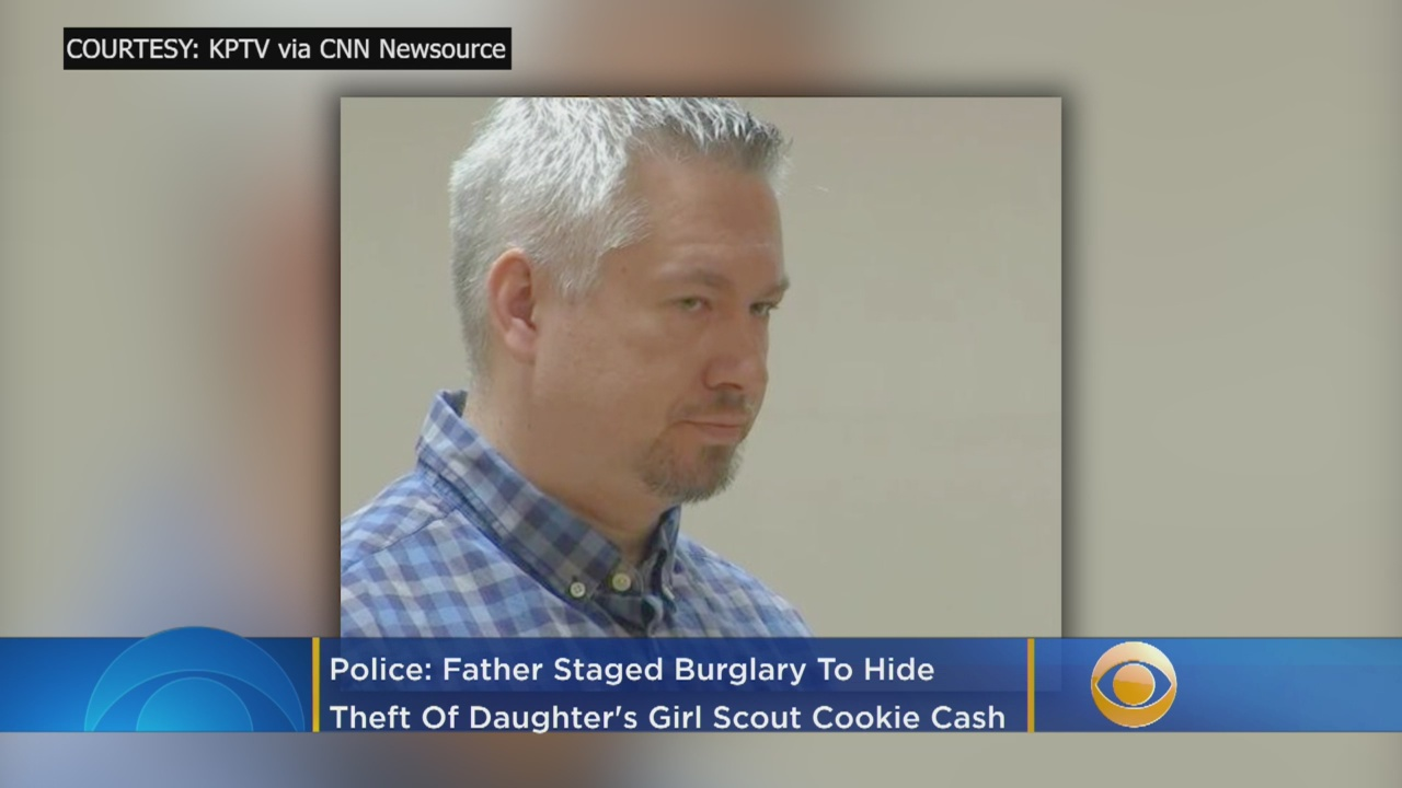 Man Stole Daughter's Girl Scout Cookie Money For Erotic Massage