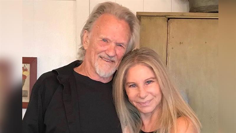 Barbra Streisand And Kris Kristofferson Have 'A Star Is Born' Reunion