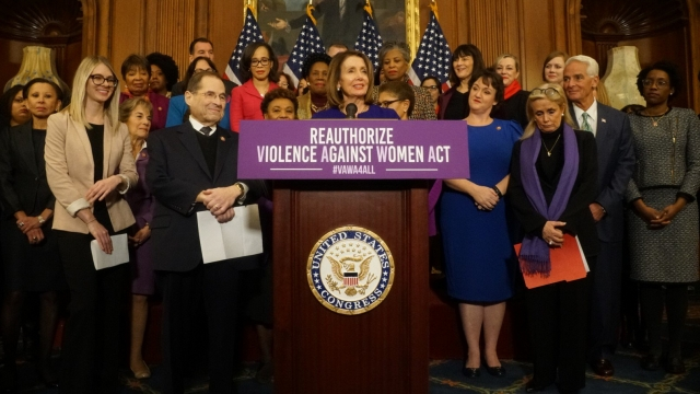 Politics - House Votes To Reauthorize Violence Against Women Act