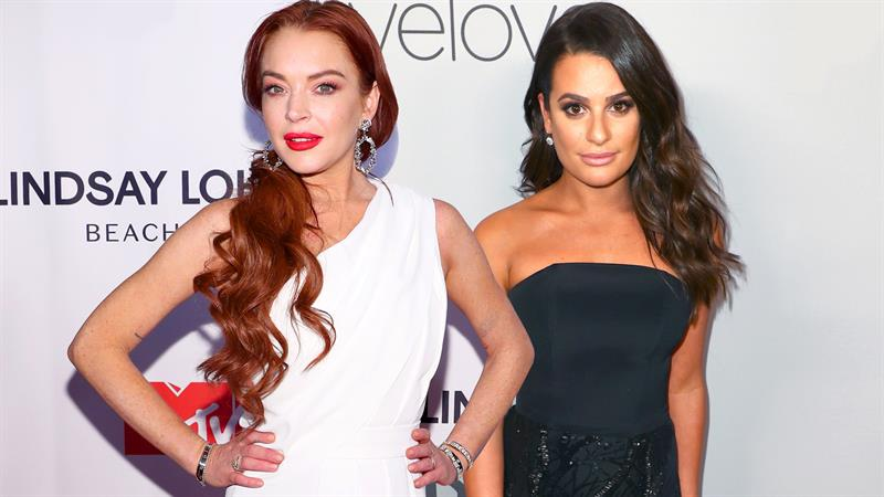 Lindsay Lohan isn't thrilled that Lea Michele was tapped to play Ariel in 'The Little Mermaid' live concert