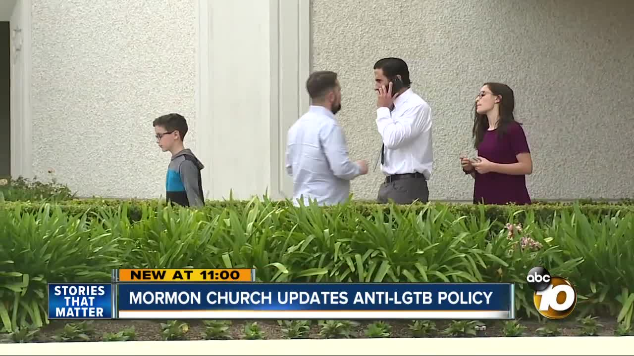 Queer Mormons: Church's Exclusion Policy Did Not Feel Like 'Love'