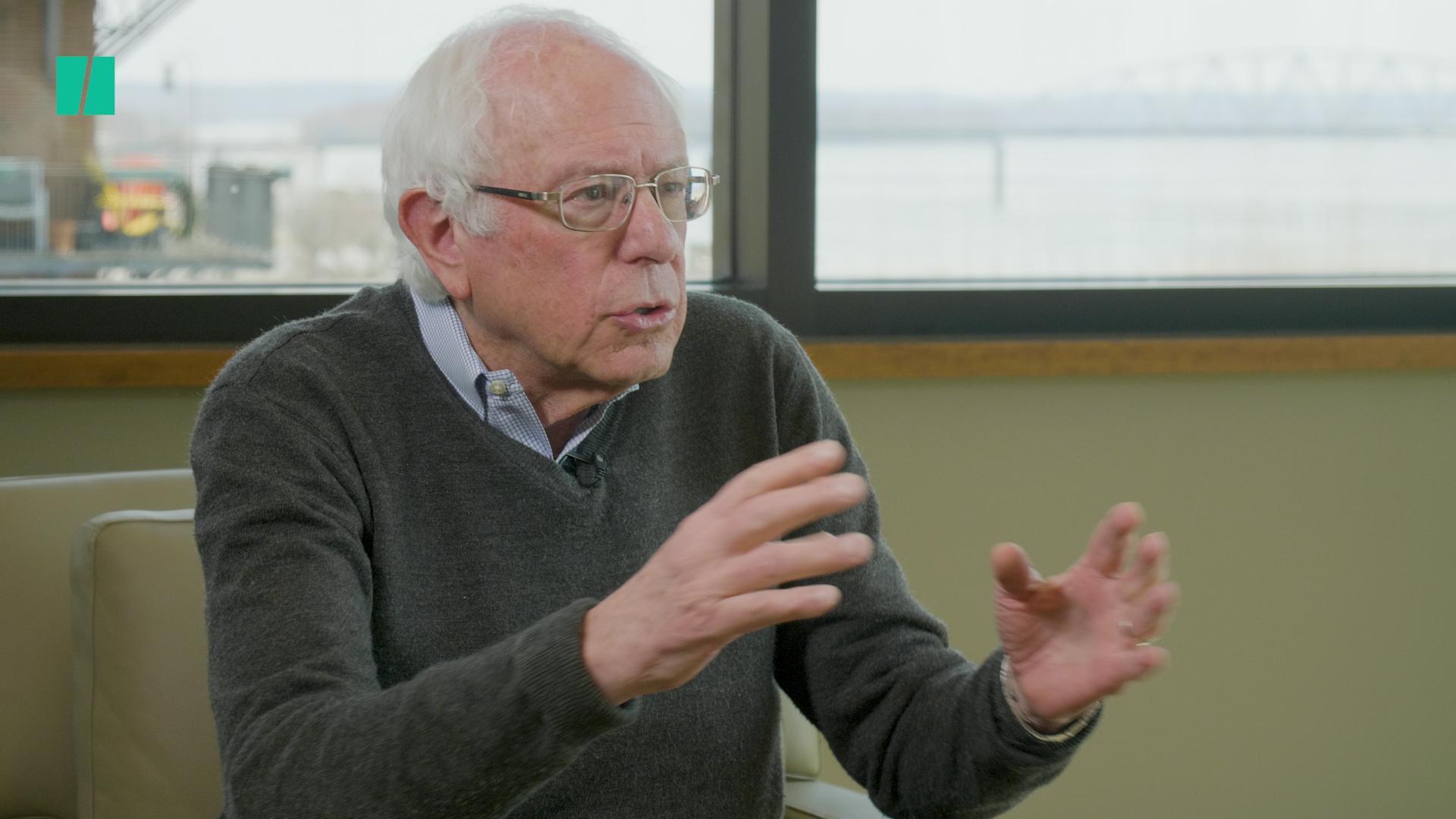 Bernie Sanders Tells Fox News Viewers That Trump Is A 'Pathological Liar'