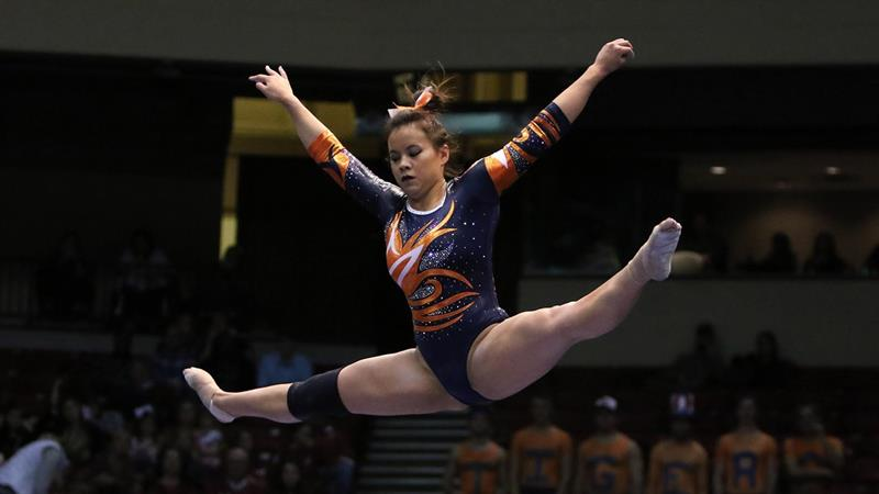 Sports Top Stories - Auburn Gymnast Who Suffered Injury to Both Legs Has Successful Surgery