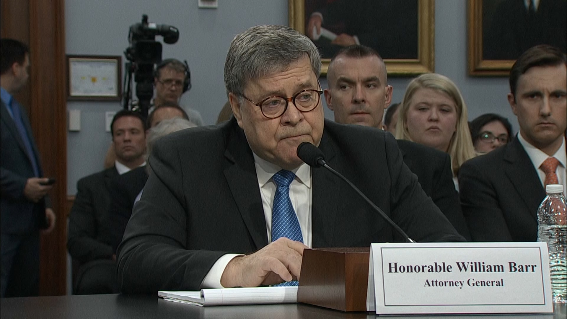 Politics - William Barr Hopes To Release Redacted Mueller Report Within A Week